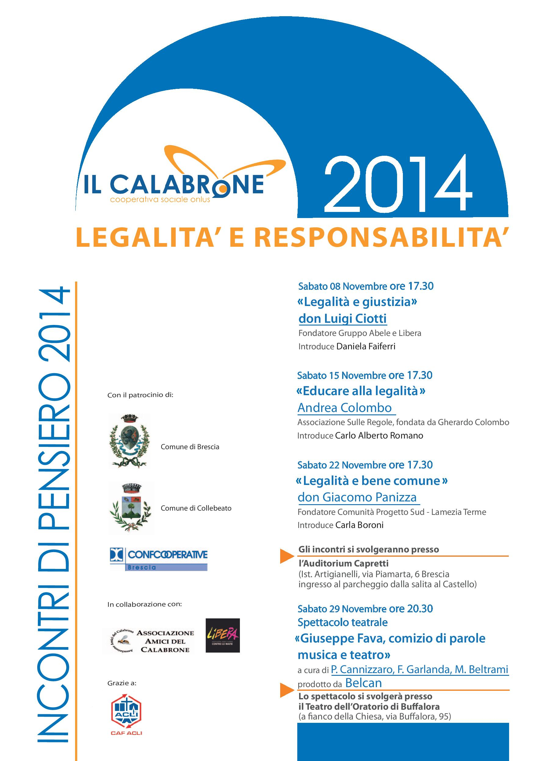 Locandina incontri di pensiero 2014l
