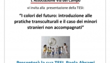 """Presentazione tesi """"I colori del futuro"""""""