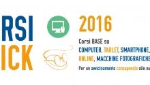 Corsi Click 2016: imparare ad usare il computer con l'aiuto di giovani