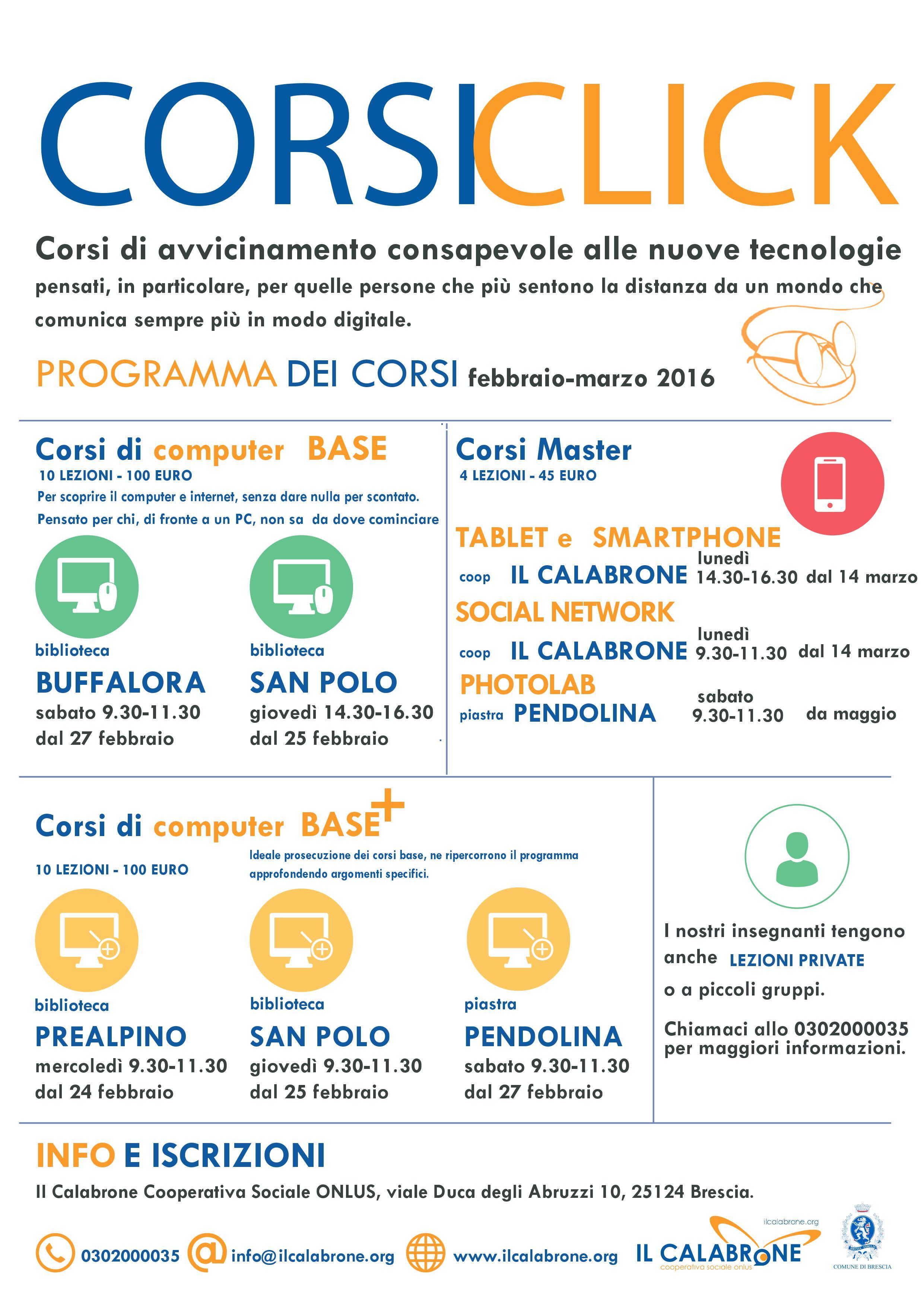 corsi click febbraio 2016